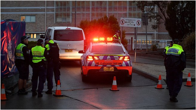 Taser, gun fired 'simultaneously' at man acting erratically at Nepean Hospital