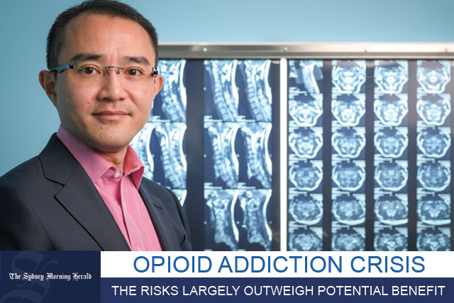 dr michael wong campaigns against opioid addiction