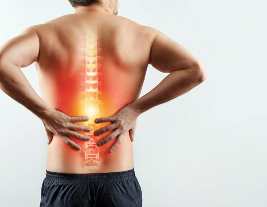 Lumbar decompression surgery eases lower back nerve pain
