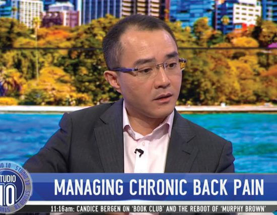 managing chronic back pain